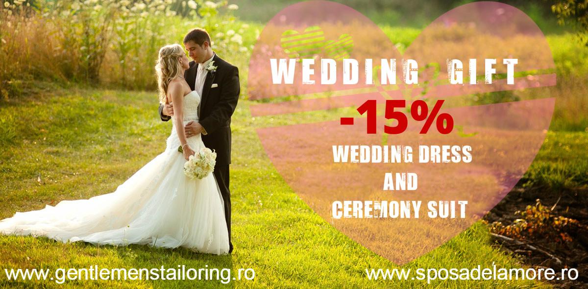 Wedding gift 15%