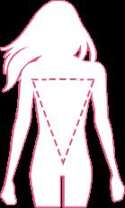 Forma corpului triunghi