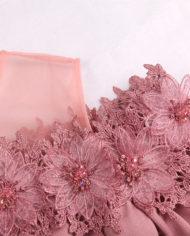 rochie de seara mov roz rochie cocktail cnf31812 retro mama miresei zoom