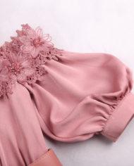 rochie de seara mov roz rochie cocktail cnf31812 retro mama miresei zoom 2