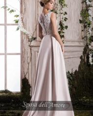 rochie de seara nude crem ivory rochie de bal rochie de banchet rochie de cununie civila sposa dell amore 2018 ed019m