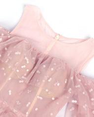 rochie de seara volan tull dantela romantica rochie d ebal roz deschis bucurest 32055 4