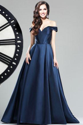 36174205rochie de banchet albastra rochie de bal tafta satin sposa dell amore