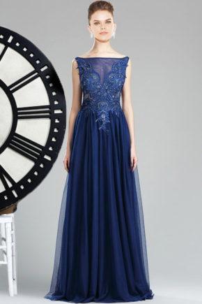 36174405a rochie de ocazie albastra rochie de bal albastru inchis rochie de soacra
