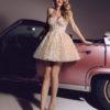 rochie cocktail rochie exclusivista rochie cununie civila rochie banchet rochie bal v18 08 sposa