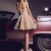 rochie cocktail rochie exclusivista rochie cununie civila rochie banchet rochie bal v18 08 sposa 2