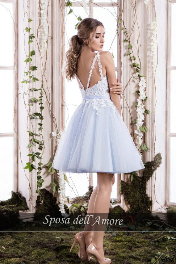 rochie cununie civila BLEO dantela rochie cocktail rochie de bal sposa dell amore ed24 2018 colectie 1