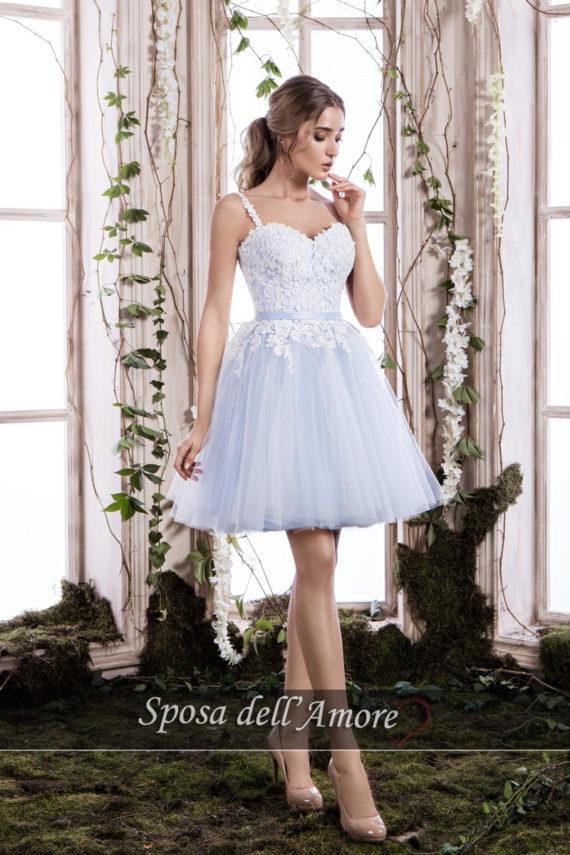 rochie cununie civila BLEO dantela rochie cocktail rochie de bal sposa dell amore ed24 2018 colectie b