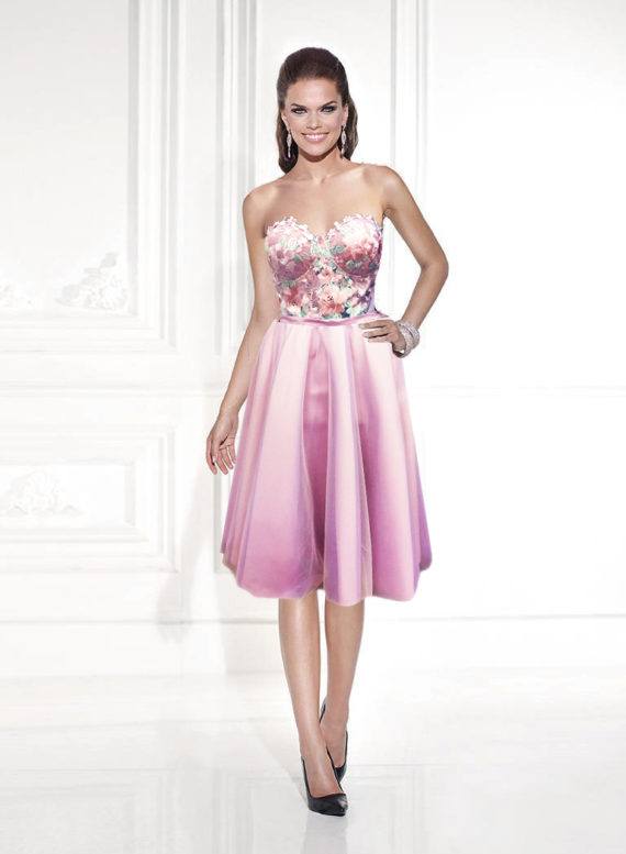 rochie de cununie civila rochie cocktail lila roz deschis sposa dell amore 2018 3
