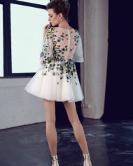 rochie cocktail rochie cununie civila ivory flori ed 18 09 sposa 2018 5