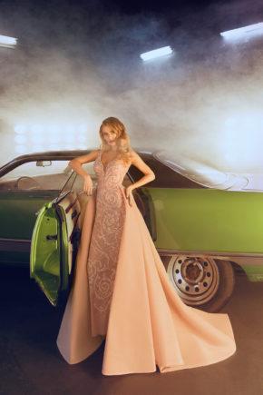 rochie de seara dantela trena detasabila v18 18 sposa dell amore