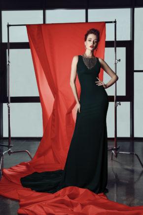 rochie de seara rochie eleganta neagra catifea mama miresei sposa ed18 18