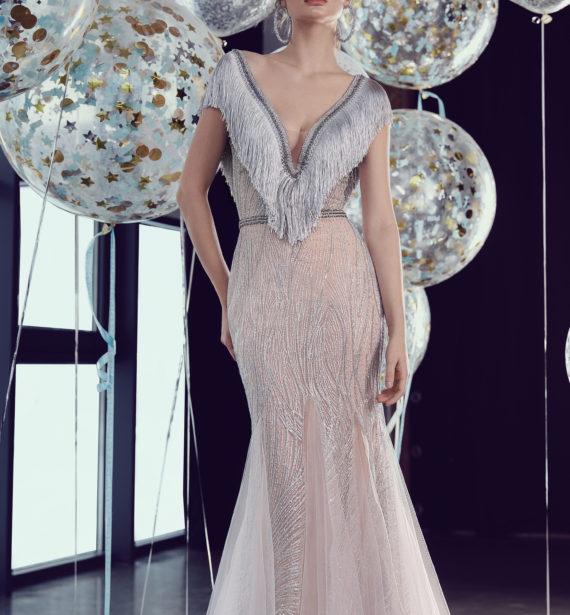 rochie de seara sposa rochie de seara franjuri dantela aplicatii ivory 2018 sirena rochie de bal rochie de ocazie ed 18 02 8