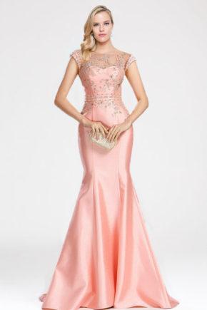 02173301a rochie de seara roz rochie tafta rochie eleganta de seara rochie soacra rochie mama miresei