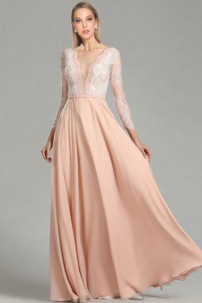 02180901a rochie de bal rochie de seara eleganta rochie de ocazie roz 2