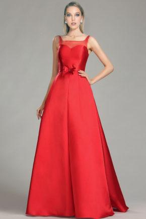02181102a rochie de seara eleganta rosie tafta rochie bal rochie rosie