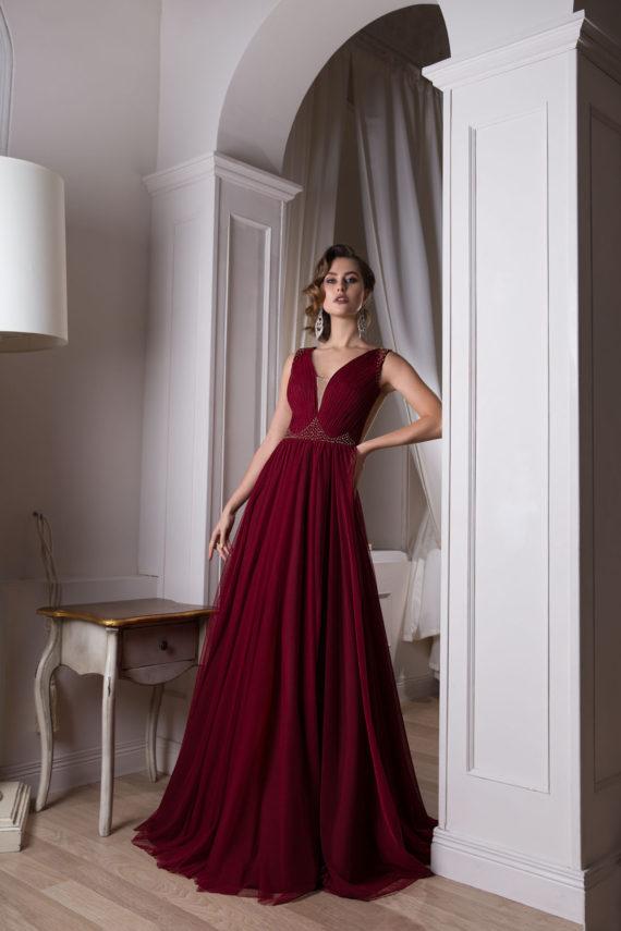 rochie de seara magent rochie de bal rochie de banchet