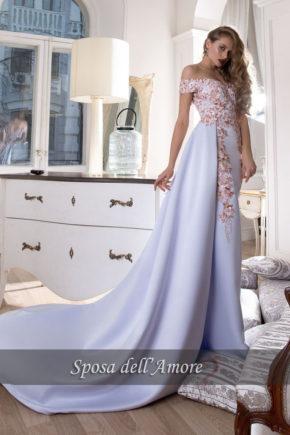 rochie de seara sposa dell amore 2017 2018 tiffany