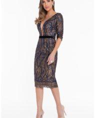 1821c7012_wine_black_front rochie cocktail cristale margele haute couture rochie soacra scurta 6