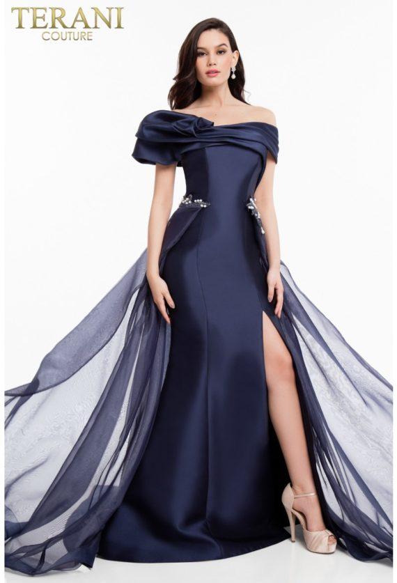1821e7100_navy_front_1 rochie eleganta de seara rochie nasa rochie bal rochie mama miresei rochie soacra