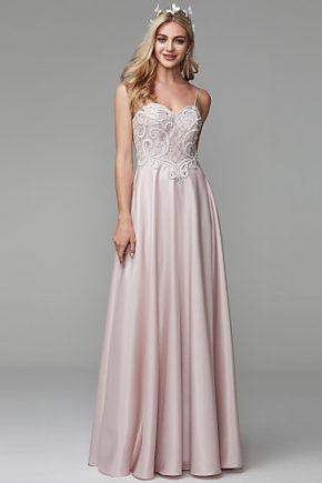 rochie bal rochia banchet roz deschis rochie satin rochie printesa cristale top 1527682612646 10