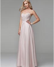 rochie bal rochia banchet roz deschis rochie satin rochie printesa cristale top 1527682612646 9