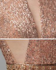 rochie de bal rochie banchet aurie paiete cristale rochie de ocazie speciala rochie de seara rochie glamour 1527682696378 zoom