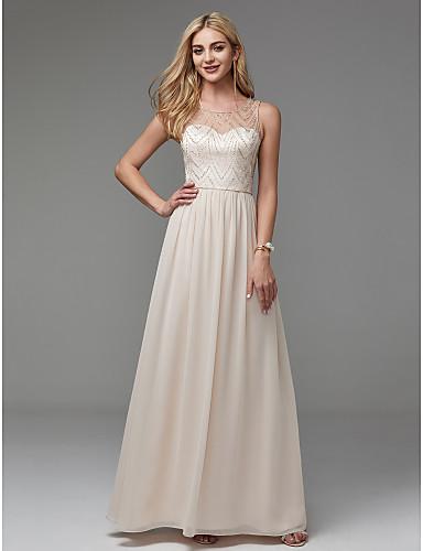 rochie de bal rochie de banchet rochie sampanie ivory sifon rochie eleganta de ocazie 1527683160698