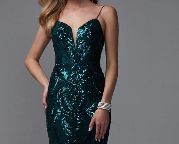 rochie de seara eleganta broderie paietata verde glamour rochie soacra rochie mama miresei 1528457156155 8