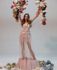 rochie de seara rochie cununie civila margarita rochie roz
