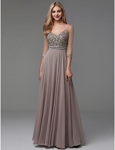 rochie de seara rochie soacra rochie mama miresei rochie gri bej rochie cristale aplicatii pe bust 1527682811528