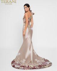 rochie mama miresei rochie de soacra rochie nude rochie crem rochie pe un umar exclusivista 1811e6123_champagne_multi_front 5