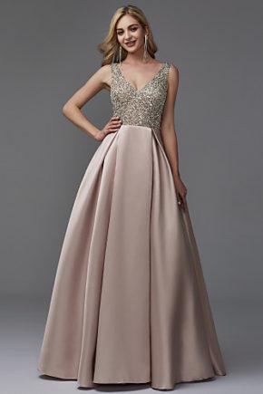 rochie bal roz prafuit, rochie banchet, rochie cununie civila, rochie mama miresei, rochie nasa, rochie de seara eleganta 06664505