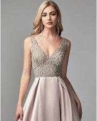 rochie bal roz prafuit, rochie banchet, rochie cununie civila, rochie mama miresei, rochie nasa, rochie de seara eleganta 06664505 9