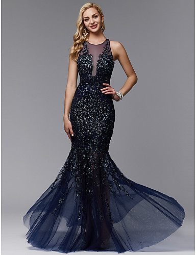 rochie de seara eleganta bleomarin tul paiete sposa dell amore evening look 06717266 5