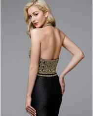 rochie eleganta de seara rochie de lux rochie eleganta de lux neagra cristale glamour sposa dell amore 671725 98 95