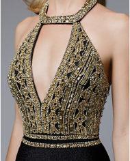 rochie eleganta de seara rochie de lux rochie eleganta de lux neagra cristale glamour sposa dell amore 671725 98 95 6