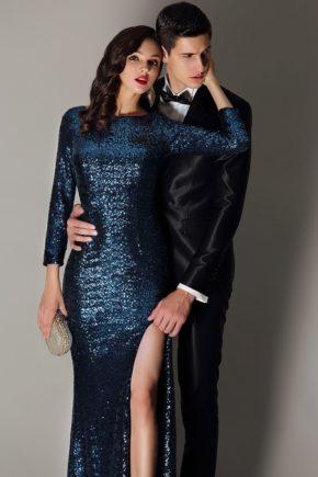 rochie de seara paiete eleganta 02181305c