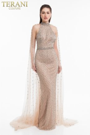 1821gl7424_nude_back rochie de seara eleganta exclusivista mama miresei nasa rochie soacra nude rochie red carpet terani 5