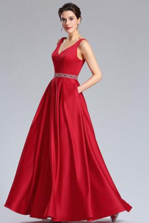 d36181802 rochie rosie eleganta satin rochie de bal rochie red carpet rochie soacra mama miresei a