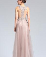 d36182446f d36182446a rochie mama miresei rochie soacra rochie tul cristale roz deschis rochie bal banchet