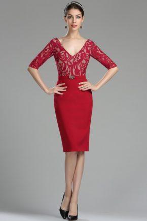 rochie cocktail pana la genunchi mama miresei soacra visiniu 26180302