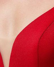 rochie de seara rosie rochie bal rochie banchet rochie eleganta de seara 06664646 10 zoom