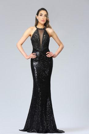 d36182500a rochie de seara paieta neagra exclusivista rochie soacra