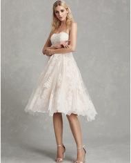 rochie de mireasa scurta pana la genunchi dantela chantilly 2019 rochie de mireasa ivory 06664507 9