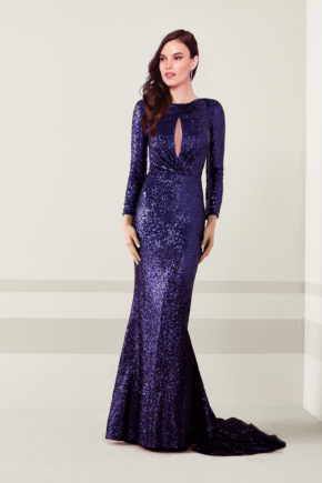 rochie de seara eleganta paiete gri mov sposa dell amore sirena rochie de soacra 06112018 6