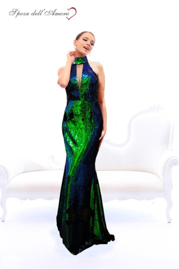 rochie de ocazie paiete cameleon rochie sposa dell amore rochie unicat maneci rochie bal rochie de banchet 12062018