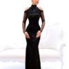 rochie de ocazie paiete neagra rochie sposa dell amore rochie unicat maneci rochie bal rochie de banchet 120620186