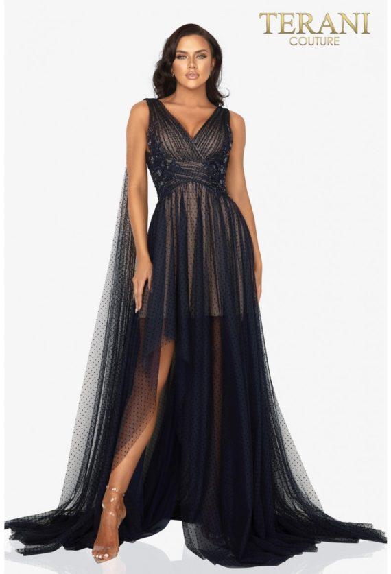 rochie de ocazie bulone neagra